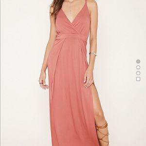 Forever 21 dress w/slit